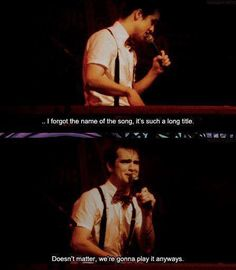 Panic! At The Disco. I had this exact conversation the other day about their really long song titles