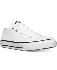 09776d7a6090 Converse Little Boys  Chuck Taylor All Star Ox Leather Casual Sneakers from  Finish Line Kids - Finish Line Athletic Shoes - Macy s