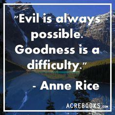 Anne Rice quote