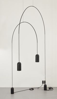 BOW floor   lamp collection designed by david dolcini STUDIO for ...