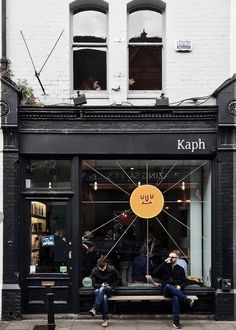 storefront + outdoor seating at kaph, a specialty coffee shop in dublin, ireland