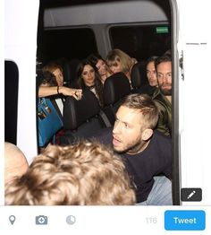 Sharing a new gram // Taylor arriving to the Republic Records After Party with Calvin Lorde Camila Cabello Jack Antonoff and Beck last night #taylorswiftupdates - - - #taylorswift #taylor #swift #swifties #swiftie#1989#shakeitoff#1989worldtour#the1989worldtour @taylorswift @taylornatio by official.taylor.swift