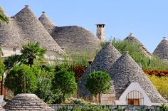 Want to see: The Trulli of Alberobello, Italy