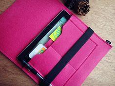 6 colors felt Macbook Air 13.3 sleeve Macbook 13 by FeltSJie