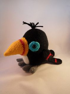 Amigurumi toucan | Flickr – Compartilhamento de fotos!