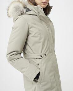 Womens Parka, Duck Down, Winter Jackets, Quartz, Urban, Slim, Stylish, Coat