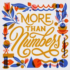 More Than Numbers . I am in love with this week's - created by Likes, shares and… Type Design, Graphic Design, Design Styles, Typography Letters, Lettering, Fancy Letters, Am In Love, Typography Inspiration, Numbers