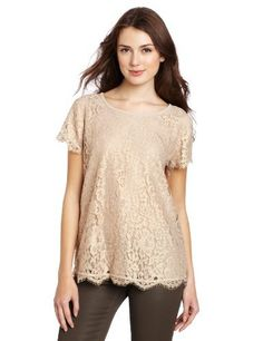 Joie Women's Marella Metallic Foil With Lace Blouse Joie. $142.80. Dry Clean Only. Metallic foil. Made in China. Marella. 58% Cotton/42% Nylon
