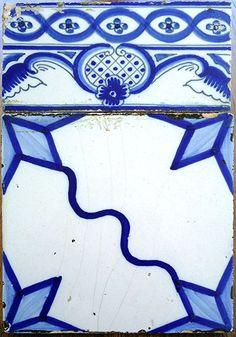 Azulejos antigos no Rio de Janeiro: Quissamã II - Solar de Machadinha