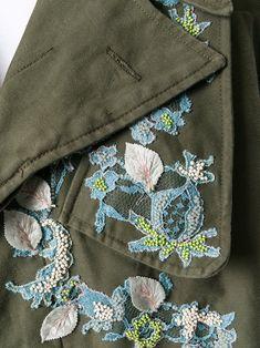 Antonio Marras укороченная куртка с аппликацией