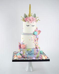Unicorn Birthday Cake By Elegant Temptations Miami Florida Tasting