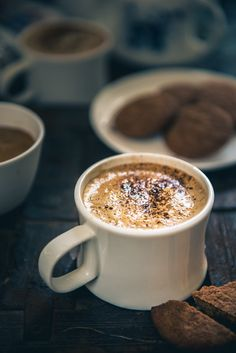 Indian Style Cappuccino is more of a homely attempt to make a warm cup of basic coffee without any elaborate preparation or over top garnishing.