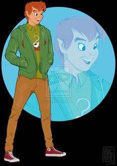 Disney Collage, Disney Fan Art, Disney Love, Disney Couples, Disney High, Disney Ideas, Modern Disney Characters, Pixar Characters, Peter Pan Film