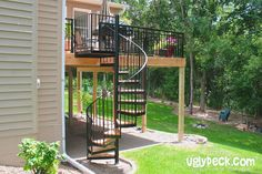 Spiral Staircase Deck Builders 10