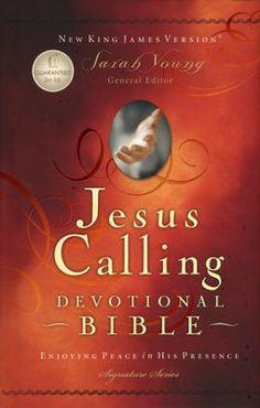 NKJV Jesus Calling Devotional Bible, Padded hardcover   - My future purchase :)
