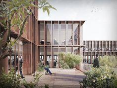 Galeria de Schmidt Hammer Lassen é selecionado em concurso para revitalização do bairro histórico de Riga - 4