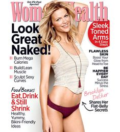 """Stars: """"What Keeps Me Fit"""" What keeps cover stars fit? Brooklyn Decker, Ashley Green, Marisa Miller and more.What keeps cover stars fit? Brooklyn Decker, Ashley Green, Marisa Miller and more. Shakira, Herbalife, Skin Burns, Adele Weight, Womens Health Magazine, Stress, Fast Workouts, Body Workouts, Flawless Skin"""