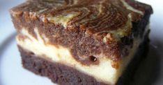 Márványos brownie Lúdanyótól recept képpel. Hozzávalók és az elkészítés részletes leírása. A Márványos brownie Lúdanyótól elkészítési ideje: 45 perc Cheesecake Brownies, Sweet Cakes, Sweet Desserts, Oreo, Banana Bread, Cake Recipes, Muffin, Food And Drink, Cooking Recipes