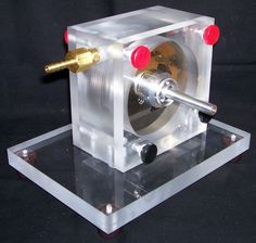 Picture of Build a 15,000 rpm Tesla Turbine using hard drive platters