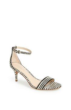 COACH 'Marci' Stripe Sandal