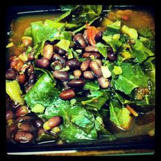 Collard Green, Sweet Potato and Adzuki Bean Soup + Vegan News You Can Use (12/30/12)