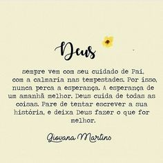 Deixa Deus fazer.. ❤ Instagram Widget, Quotes About God, Don't Give Up, My King, Positive Thoughts, True Quotes, Texts, Prayers, Lord