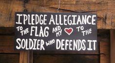 I Pledge Allegiance and my Heart to the by MySeasonedPalette National Guard Girlfriend, Army National Guard, Military Girlfriend, Military Mom, Army Mom, Military Gifts, Army Life, Military Veterans, Boyfriend