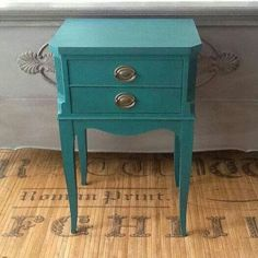 Furniture Buying Secrets: Get The Most Bang For Your Buck Buy Used Furniture, Online Furniture, Furniture Projects, Painted Furniture, Furniture Refinishing, Paint Paint, Milk Paint, Blue Nightstands, White Washed Furniture