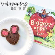"42 Likes, 26 Comments - Maja Alic Austin (@maja_kookykinders) on Instagram: ""Foodie Friday - Mouse 🐭 #foodiefriday #funkidfood #funfoodforkids #bookcook #funfoodiefriday…"""