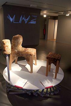 Mobilier Yamanaka, Philip Ross, 2012. En vie, aux frontières du design. Fondation EDF. Vu le 22 août 2013.