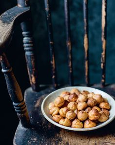 Marmite gougères by Rosie Birkett Marmite, Gougeres Recipe, French Food, Food Inspiration, Baked Goods, Dog Food Recipes, Rolls, Tasty, Plates