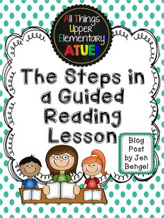All Things Upper Elementary: Getting Started with Guided Reading