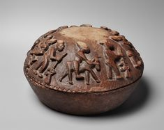 Yoruba Opon Igede Ifa (Divination Bowl), Nigeria http://www.imodara.com/item/nigeria-yoruba-opon-igede-ifa-divination-bowl/
