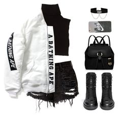 Designer Clothes, Shoes & Bags for Women Baddie Outfits Casual, Cute Swag Outfits, Kpop Fashion Outfits, Girls Fashion Clothes, Stage Outfits, Retro Outfits, Stylish Outfits, Korean Outfits, Dance Outfits