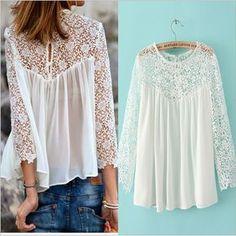 blusas e camisas baratos, compre etiqueta da camisa de qualidade diretamente de fornecedores chineses de blusa de renda.