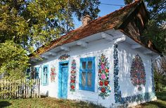 This Polish Town With Hand-Painted Homes Is Kind Of The Cutest Place Ever