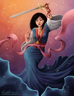 Fan Art of Mulan  for fans of Disney Princess Mulan. Description from pinterest.com. I searched for this on bing.com/images