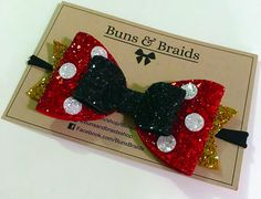 These Sparkly Disney Character Bows are Full of Shimmer and Sass