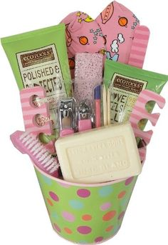 Spa Pampering Foot Care Gift Basket « Blast Gifts