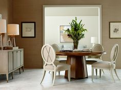 The Barbara Barry Collection in 4 new low-sheen finishes   Baker Furniture