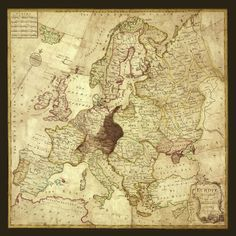 """""""Spilsbury"""" - As #puzzle fans may know #Spilsbury created the first puzzle in the late 1760s as an #educational tool to teach geography. By carving up a #map glued to a wooden board he cut along the country boundaries to create pieces."""