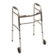 Walkers and Canes: Roscoe Medical Two Button Folding Walker With 5 Wheels -> BUY IT NOW ONLY: $34.99 on eBay!