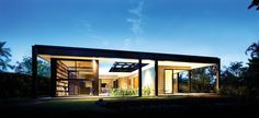 (–) Glass House | Charles Wright Architects re-presentation of Glass House (minus the glass) | ArchitectureAU