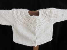 Alpaca Baby Sweater - pinned by pin4etsy.com