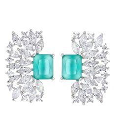 brinco quadrado turmalina e cristal semi joias https://www.waufen.com.br/