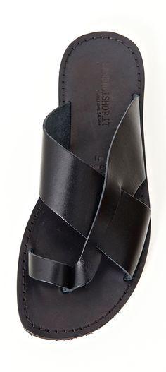 87158e210fba mens leather sandals Mens Dress Sandals