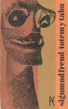 "Cover design: Daniel Gil. (Spanish edition of ""Totem and Taboo,"" by Sigmund Freud. Alianza Editorial.)"