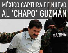<p>08/01/2016/Reuters / Edgard Garrido/RT El presidente de México, Enrique Peña Nieto, ha informado este viernes a través de su cuenta de Twitter que el narcotraficante Joaquín 'El Chapo' Guzmán Loera ha sido detenido. El capo del cártel del narcotráfico de…</p>