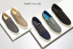 We're feeling 'pumped' for these 5 styles! Casual footwear you NEED in your collection.