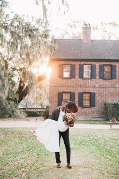 Inspired By This Farmhouse Wedding Inspiration Full of Southern Charm Southern Charm Wedding, Middleton Place, Bohemian Wedding Inspiration, South Asian Bride, Black Bride, Romantic Moments, Boho Bride, Spring Wedding